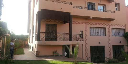 Location villa vide longue durée marrakech