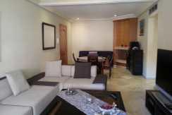 location appartement meublé route de casa marrakech
