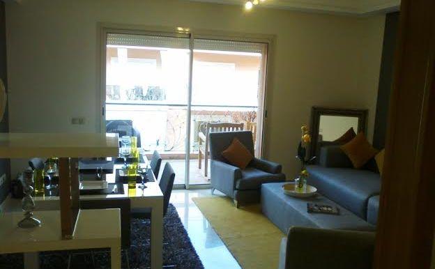 Appartement à vendre route de safi marrakech