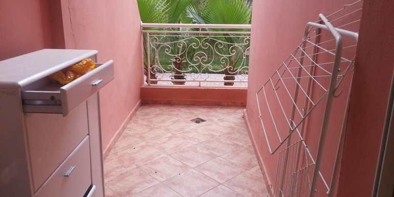 Location appartement avec piscine sur route de casa marrakech7