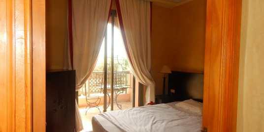 Location appartement meublé avec piscine palmeraie