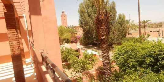 Villa non meublée à louer route de casa marrakech