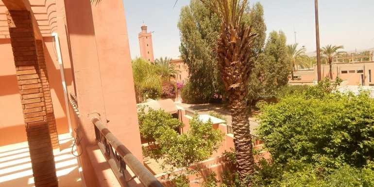 Villa non meublée à louer route de casa marrakech12