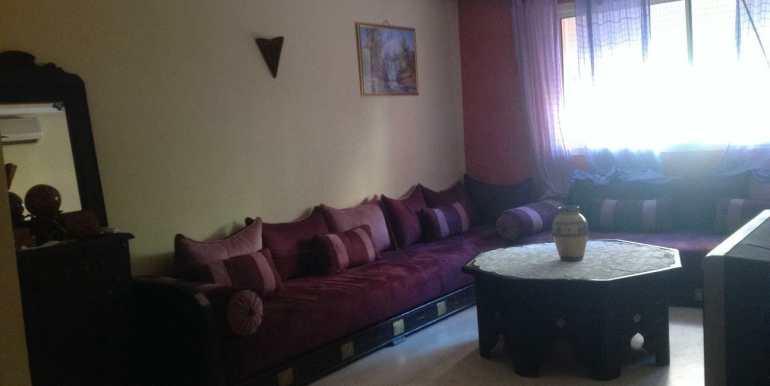 appartement à louer sur route de casa marrakech1