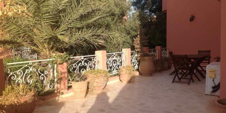 appartement à louer sur route de casa marrakech7
