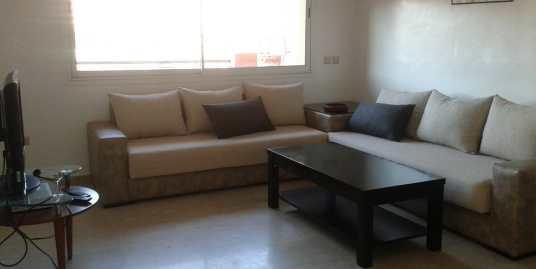 location appartement meublé longue durée hivernage marrakech