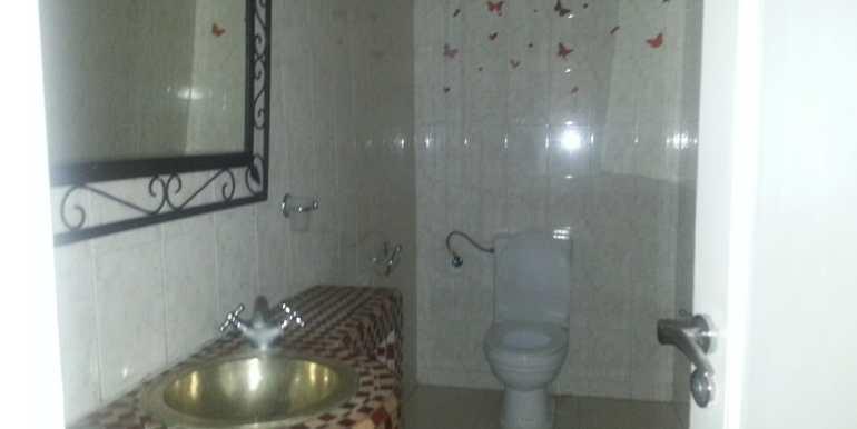 location villa meublée à targa marrakech avec piscine privée8