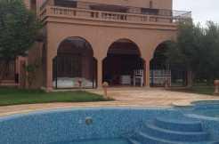 location villa meublée longue durée à marrakech route de ouarzazate
