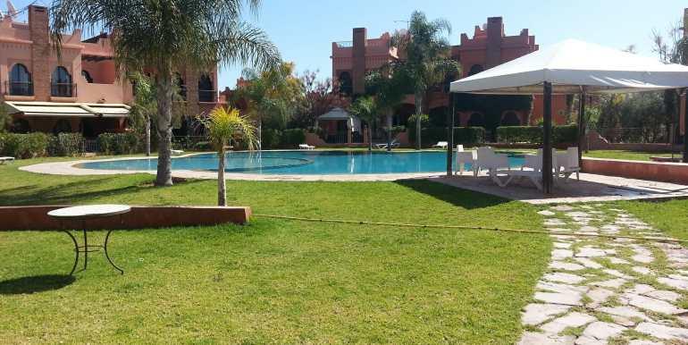 location villa non meublé route de fes à marrakech7