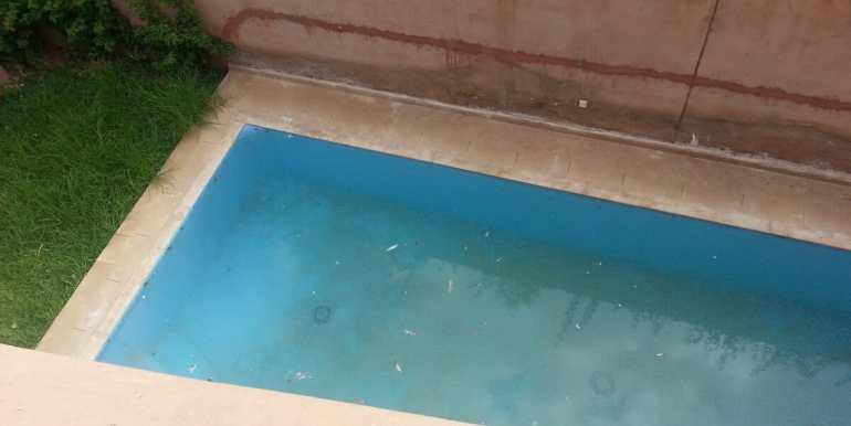 location villa non meublée à marrakech targa8