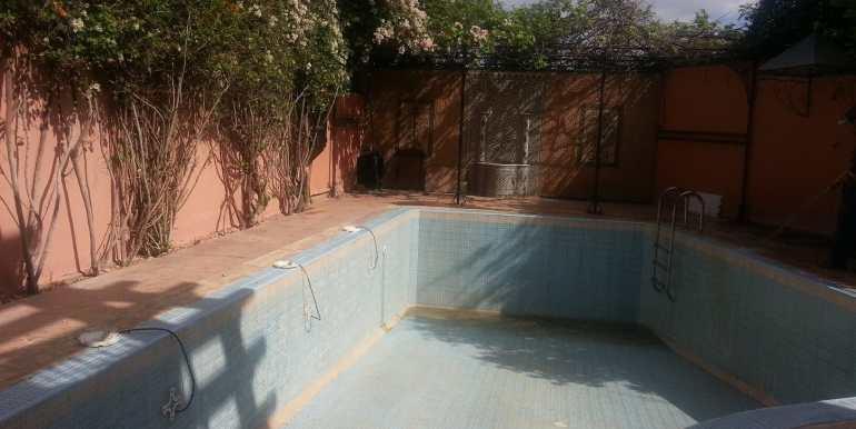 villa non meublée à louer à marrakech targa 3