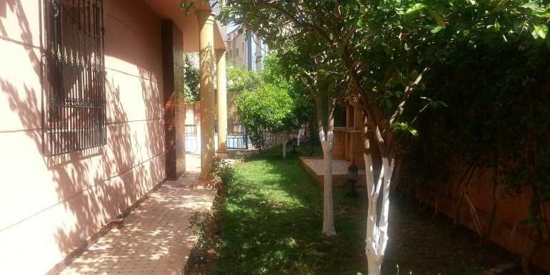 villa non meublée à louer à marrakech targa 6
