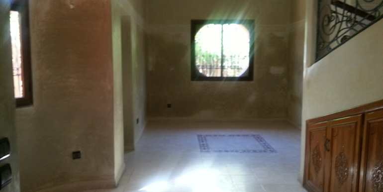 villa non meublée à louer à marrakech targa