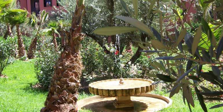 Location appartement de luxe vide sur la route de casa Marrakech-1