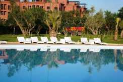 Location appartement de luxe vide sur la route de casa Marrakech