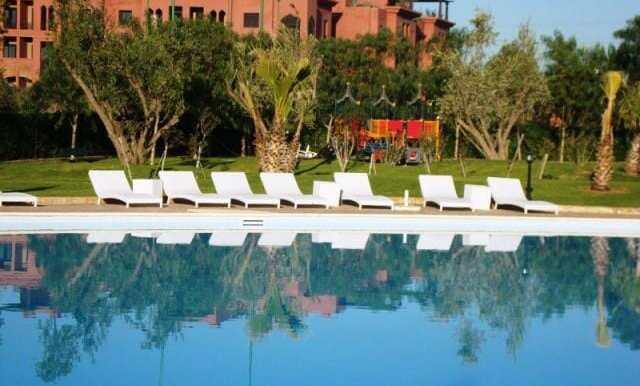 Location appartement de luxe vide sur la route de casa Marrakech-2