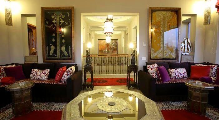 villa à louer pour courte durée pour les evenements à marrakech