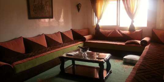 Appartement à louer avec piscine sur la route de casa marrakech