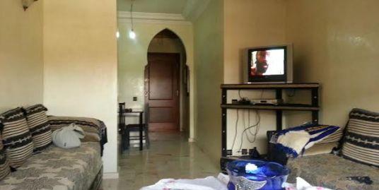 Location appartement semi meublé à marrakech Gueliz