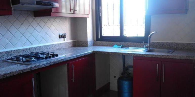 Appartement vide à louer à Marrakech victor hugo