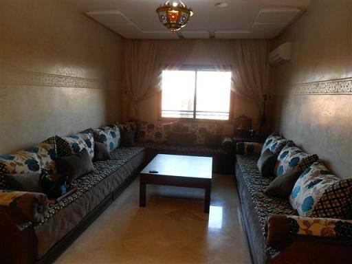 Location appartement meublé pas cher à marrakech gueliz-1