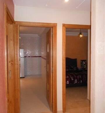 Location appartement meublé pas cher à marrakech gueliz-7