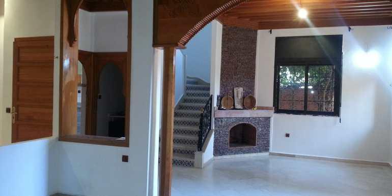 Villa à louer pour longue durée sur la route de casa Marrakech-2