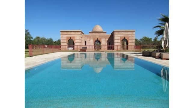 Villa de luxe à vendre au palmeraie marrakech-9