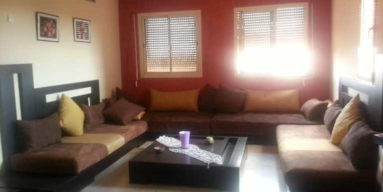 Location Appartement meublé  pour longue durée route de casa (7)