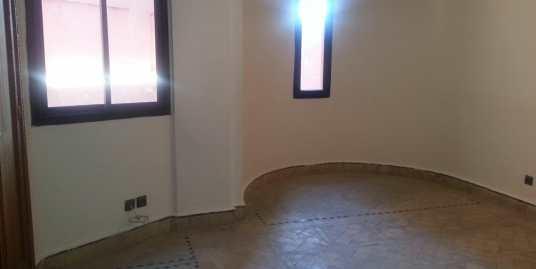 Duplex non meublé pour longue durée à victor hugo marrakech