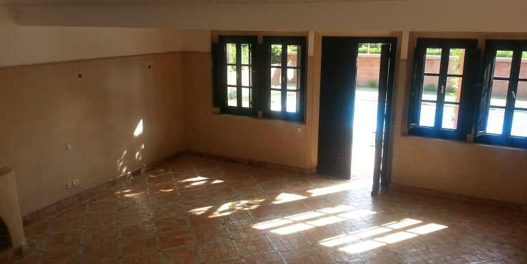 Location longue durée villa vide palmeraie  (5)