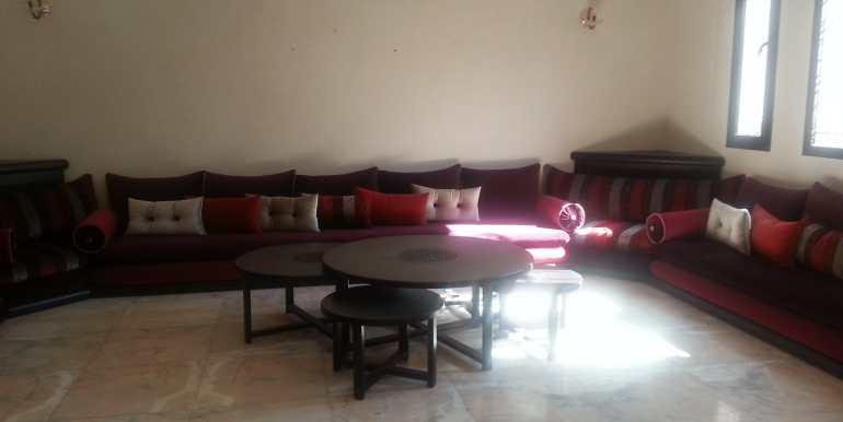 Villa meublé pour longue durée targa marrakech (1)