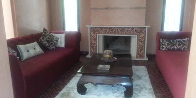 Villa meublé pour longue durée targa marrakech (3)