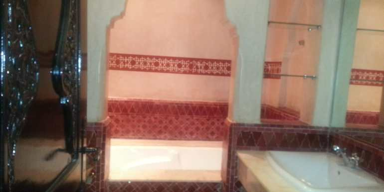 Villa meublé pour longue durée targa marrakech (9)