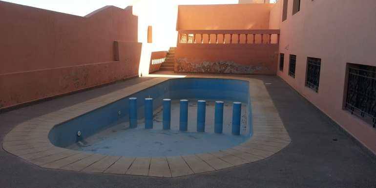 vente appartement sur route de casa avec piscine (9)