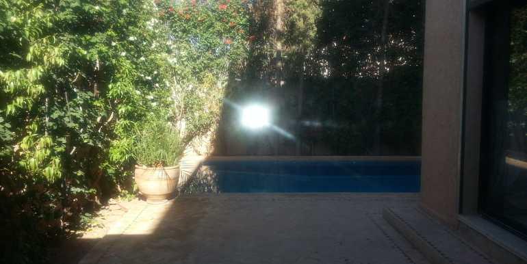 villa non meublée à targa marrakech (8)