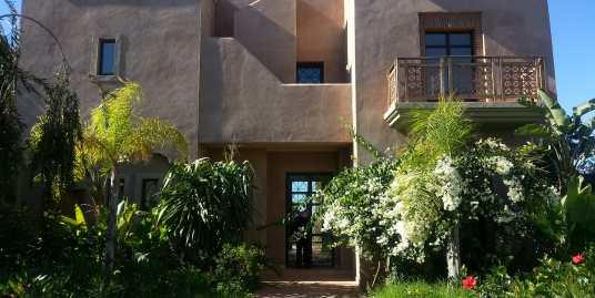 magnifique villa vide sur la route d'amezmiz marrakech