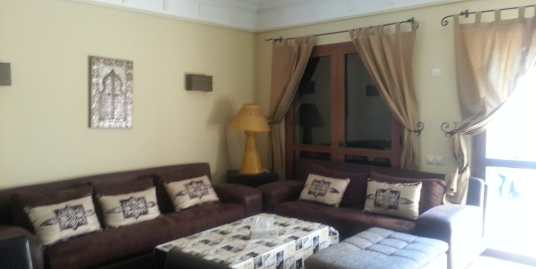 jolie appartement meublé sur avenue mohammed 6 marrakech