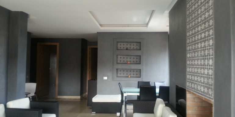 appartement meublé de luxe avenue Mhamed 6 marrakech (4)