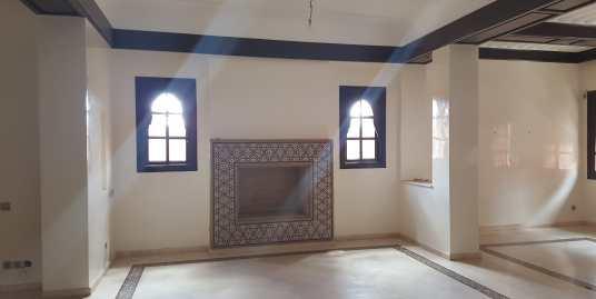 magnifique villa vide bab ighli à marrakech