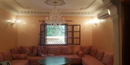 un bel appartement meublé sur avenue Mohamed 6