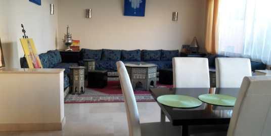 villa à louer pour longue durée à targa marrakech