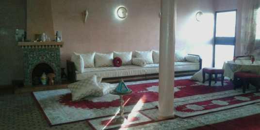 magnifique villa sur la route de casa marrakech