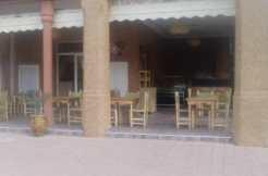 Restaurant sur l'avenue Mohamed 6 marrakech