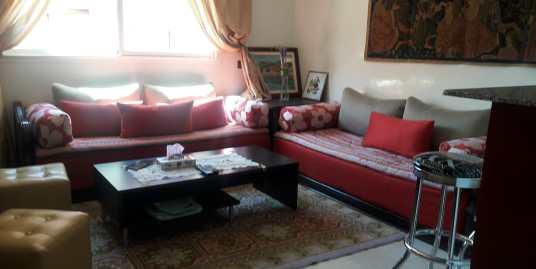 coquette appartement meublé route de safi