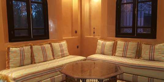 Villa à louer meublée à Marrakech la route d'ourika