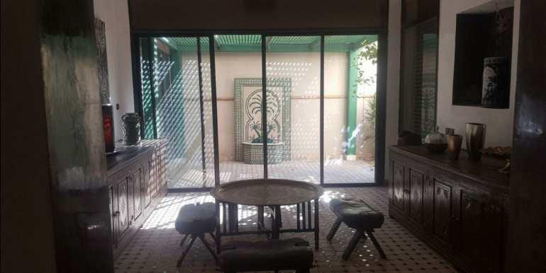 villa à louer pour la longue durée meublée à marrakech targa 2