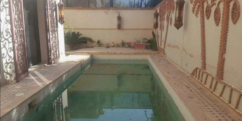 villa à louer pour la longue durée meublée à marrakech targa 5