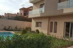 Villa contemporain de 400m² à targa marrakech