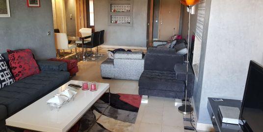 Joli appartement meublé sur Av Mohamed 6
